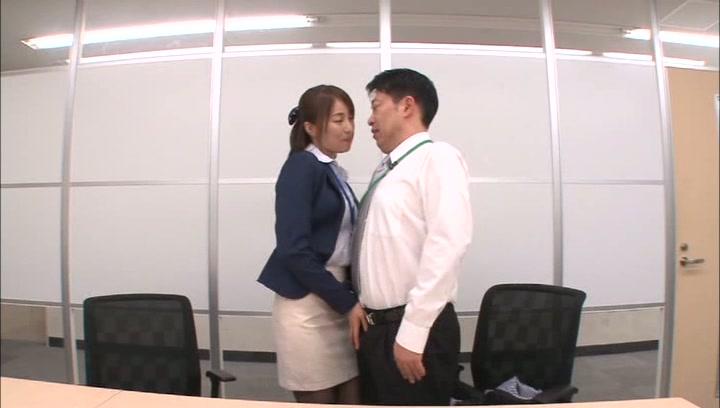 Lusty office girl Arisu Miyuki rides cock of her handsome colleaguesbig tits sex, huge boobs, japanese tits
