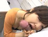 Curious Japanese hottie Yuuka Kojima gets her tits fucked