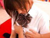 Misaki Shiraishi Lovely Asian schoolgirl