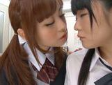 Rumi Kamida and Sayaka Otonashi amazing Japanese schoolgirls picture 11