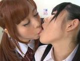 Rumi Kamida and Sayaka Otonashi amazing Japanese schoolgirls picture 15