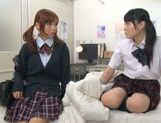 Rumi Kamida and Sayaka Otonashi amazing Japanese schoolgirls picture 3