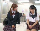 Rumi Kamida and Sayaka Otonashi amazing Japanese schoolgirls picture 7