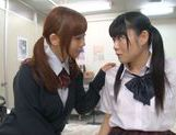 Rumi Kamida and Sayaka Otonashi amazing Japanese schoolgirls picture 9