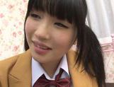 Alluring Japanese teen Nomiya Satomi is screwed in a doggystyle