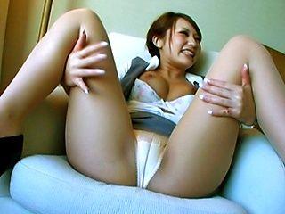 Sena Aragaki Sexy Asian model is fucked hard from behind