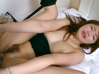Redhead Asian milf drills her insatiable pussy gets banged hard
