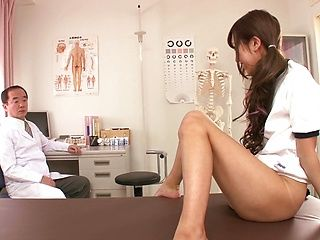 Cock sucking performed by hot teen Mizuki Hinano