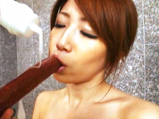 Sexy Japanese model Yuka fucks hard at work