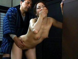 Yuu Kawakami is a hot milf getting a hard doggy style fuck