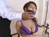 Nami Hoshino Asian chick is in nasty bondage sex