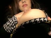 Short skirt guarantees Haruki Aoyama sex