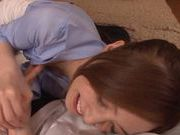 Horny MILF Kaede Fuyutsuki gets fucked in her asshole
