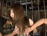 Captured busty teen Yuria Kiritani gets teased and fingered picture 14