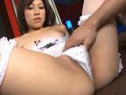 Tomoka Minami Asian doll gets fucked in her sexy white stockings