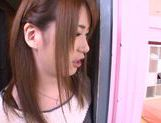 Hot Japanese teen Yui Nashikawa gets fucked and sucks dick