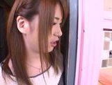 Hot Japanese teen Yui Nashikawa gets fucked and sucks dick