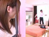 Hot Japanese teen Yui Nashikawa gets fucked and sucks dick picture 4