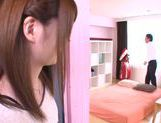 Hot Japanese teen Yui Nashikawa gets fucked and sucks dick picture 6