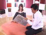Hot Japanese teen Yui Nashikawa gets fucked and sucks dick picture 8