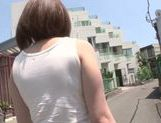 Arousing asian teen Minami Ohiro gets hard drilled picture 7