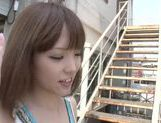 Arousing asian teen Minami Ohiro gets hard drilled picture 8