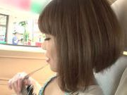 Arousing asian teen Minami Ohiro gets hard drilled