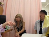 Hot Japanese model getting roughly nailed by horny guy