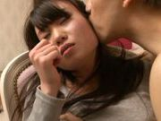 Busty angel Aiko Yumeno gets licked and nailed extremely hard