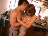 Kirara Asuka Japanese babe is fucked in the kitchen