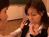 Horny Chihiro Akino enjoys sucking huge cockjapanese sex, asian women}