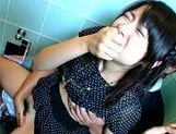 Haruka Itoh Sexy Asian chick gets fucked in public toilet