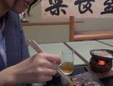 Beautiful Japanese babe Nanako Kimura is fucked in a tough way