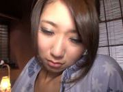 Beautiful Japanese babe Nanako Kimura is fucked in a tough way