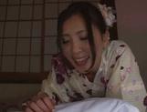 Sexy Rin Sakuragi Asian milf amazes her horny husband picture 11