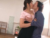 Pussy licking makes Asian milf Marina Shiina moan picture 1