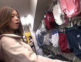 Naughty milf Natsumi Shiraishi drilled by toys publicly picture 11