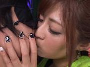 Sexy Satou Haruka loves to tease her horny dates
