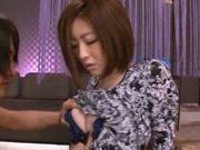 Steaming milf Ai Haneda enjoys oral play and doggie fuck