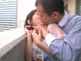 Luscious Japanese teen girl Minami Aida is drilled by toys