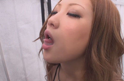 Arousing Aika enjoys sucking hard cock on dates