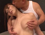 Busty Rei Aimi receives impressive pussy stimulation picture 14