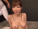 Busty Rei Aimi receives impressive pussy stimulation