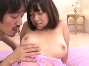 Sexy Japanese teen, Onoe Wakaba, enjoys a gang bangasian pussy, horny asian}
