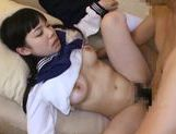 Shameless Japanese teen girl is screwed by mature dudehot asian pussy, japanese pussy}