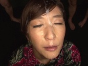 Horny Japanese milf Ichika Kamihata gives head enjoys a massive facialasian women, horny asian}