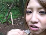 Young Japanese hottie Risa Mizuki gets pounded picture 14