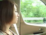 Young Japanese hottie Risa Mizuki gets pounded picture 1