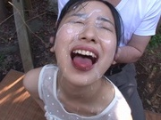 Senior cock for Suzu Ichinose´s warm mouthasian pussy, asian wet pussy}