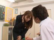 Yuma Asami Hot Asian teacher with a hot body
